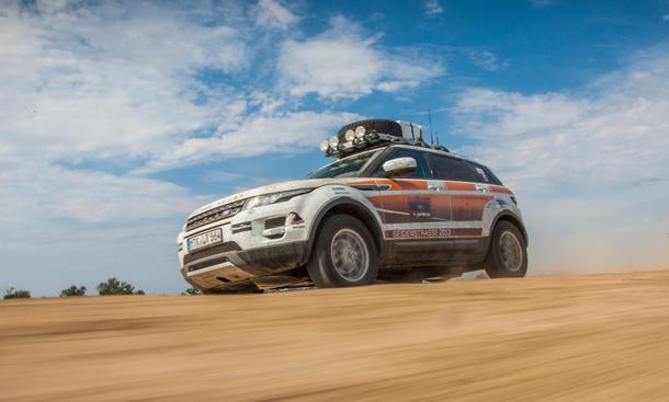 Range Rover Evoque Seidenstrasse Sondermodell 2013