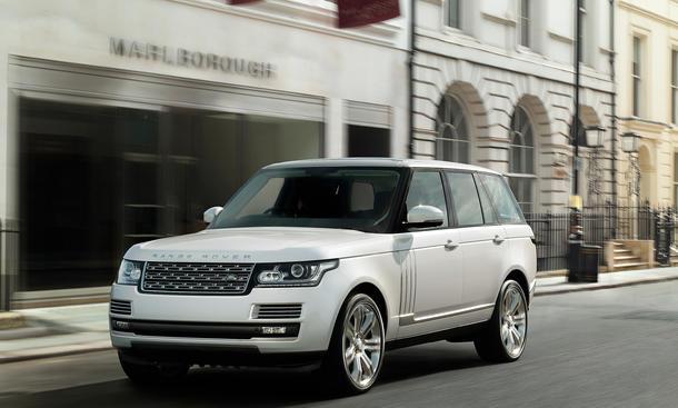 Range Rover LWB 2014 Langversion Long Wheelbase Luxus SUV
