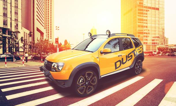 Dacia Duster Detour Concept Renault 2013 Bilder Johannesburg
