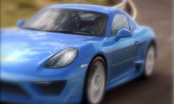 Studiotorino Moncenisio 2013 Porsche Cayman Umbau Karosserie Tuning