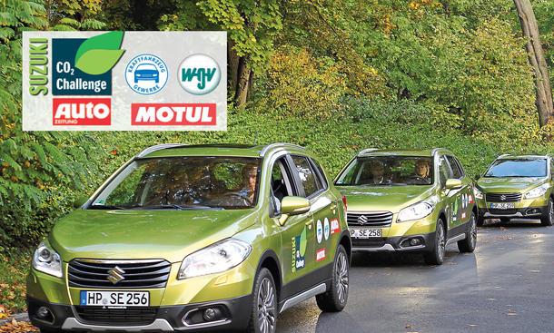 Suzuki CO2-Challenge Leser-Test-Aktion SX4 S-Cross