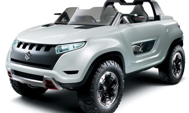 Suzuki X-Lander Studie Tokyo Motor Show 2013