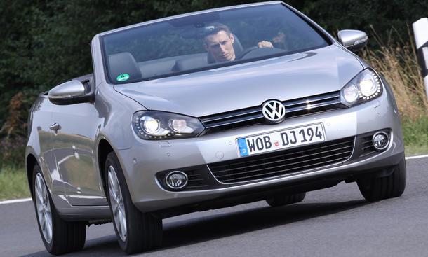 VW Golf Cabriolet 1.4 TSI Bilder Vergleichstest Eckdaten