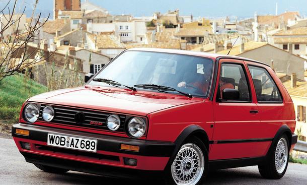 VW Golf II Jubilaeum 30 Jahre 2013 Klassiker GTI GTD