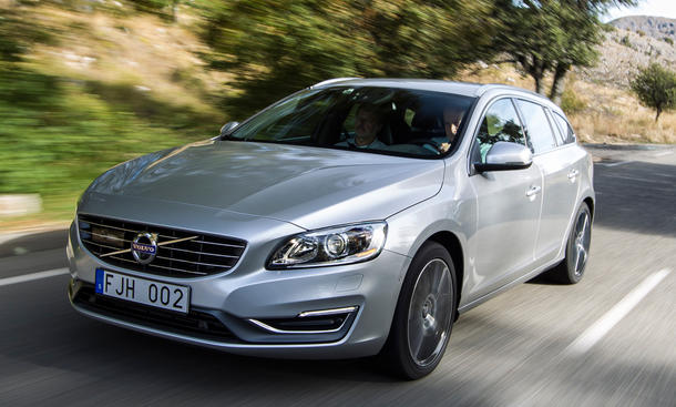 Volvo V60 D4 Fahrbericht Bilder technische Daten
