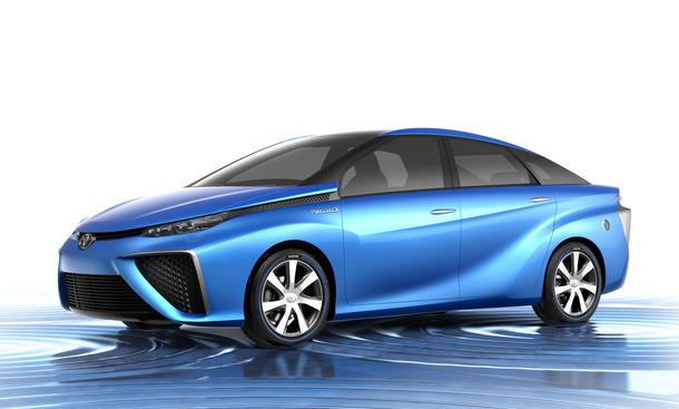 Toyota FCV Concept 2013 Tokyo Motor Show Prius Studie Wasserstoffantrieb