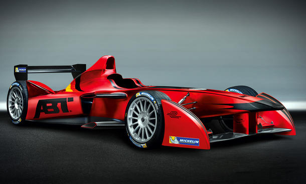 Abt Formula E Audi Elektroauto Rennwagen 2014 Motorsport Elektro