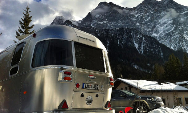 Airstream Camping Wohnwagen Winter Caravan Heizung