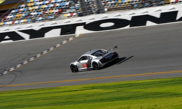 Audi R8 LMS 2014 United SportsCar Championship Rennwagen