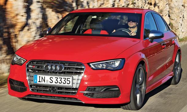 Audi S3 Limousine Fahrbericht Bilder technische Daten