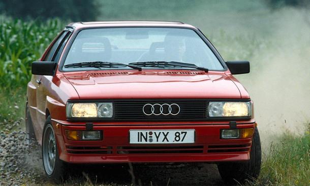 Audi quattro 20V Bilder technische Daten Youngtimer Traumwagen