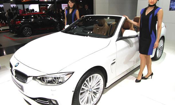 Tokyo Motor Show 2013 Neuheiten Rundgang BMW 4er Cabrio