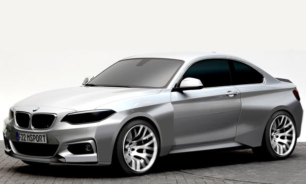 BMW M235i Racing Langstrecke Motorsport Rennversion Nürburgring