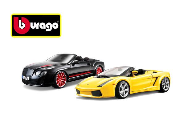 Gewinnspiel 2013 Bburago Cabrio Modelle