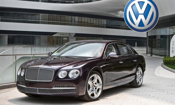 Bentley Flying Spur VW Produktion Dresden