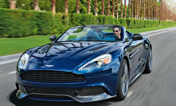 Fahrbericht Aston Martin Vanquish Volante: Bilder und technische Daten