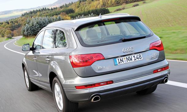 Bilder Audi Q7 3.0 TDI quattro clean diesel Oberklasse-SUV Abmessungen