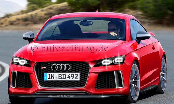 Neuheiten Bilder Audi TT RS