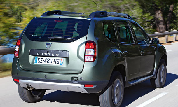 dacia duster tce 125 4x2 facelift fahrbericht bilder und technische daten bild 2. Black Bedroom Furniture Sets. Home Design Ideas