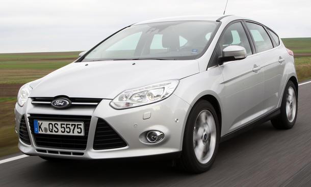Bilder Ford Focus 1.0 EcoBoost Vergleichstest Kompaktklasse Agilität