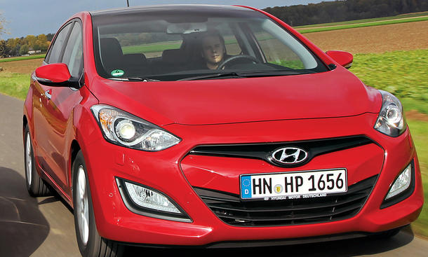 Bilder Hyundai i30 1.4 Vergleichstest Kompaktklasse Kosten