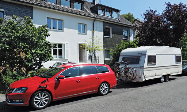 Bilder VW Passat Variant 2.0 TDI Dauertest 100.000 km Fazit Anhängerkupplung Nutzlast