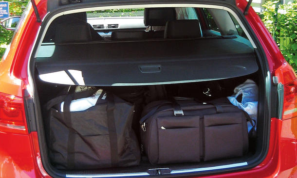 Bilder VW Passat Variant 2.0 TDI Dauertest 100.000 km Fazit positiv Platzangebot