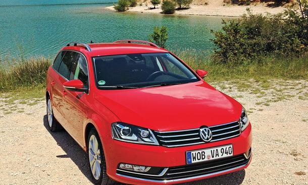 Bilder VW Passat Variant 2.0 TDI Dauertest 100.000 km Fazit Langstrecke