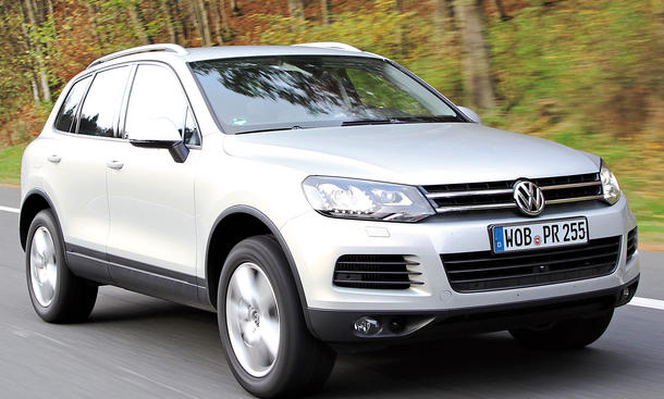 Bilder VW Touareg 3.0 TDI BMT 4MOTION Oberklasse-SUV Geräuschkomfort Federungskomfort