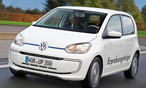Bilder VW Twin Up 2013 Elektroauto Fahrbericht