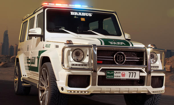 Brabus B63S 700 Dubai Police Mercerdes G Klasse Tune it safe Tuning