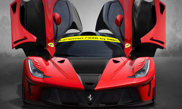 DMC LaFerrari FXXR Tuning Hybrid Supersportwagen Bodykit