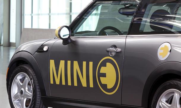 Elektro MINI E 2014 Elektroauto Kleinwagen