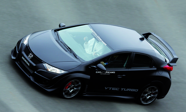 honda civic type r 2015 bilder und video der sportversion. Black Bedroom Furniture Sets. Home Design Ideas