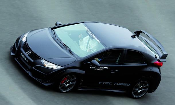 Honda Civic Type R 2015 Bilder Video Kompaktklasse Sportversion Prototyp