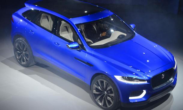 2015 Jaguar C X17 Kompakt SUV Produktion Aluminium