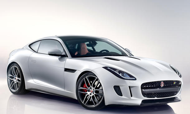 jaguar f type coup r mit 550 ps 911 turbo im visier bild 10. Black Bedroom Furniture Sets. Home Design Ideas