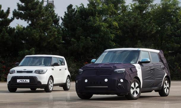 Kia Soul EV Elektroauto Kompakt-Van Marktstart Reichweite