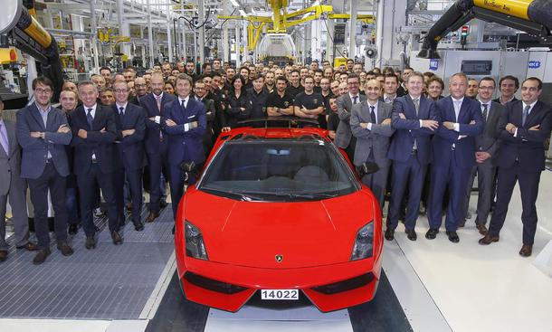 Lamborghini Gallardo LP 570-4 Produktionsende 2013 Supersportler