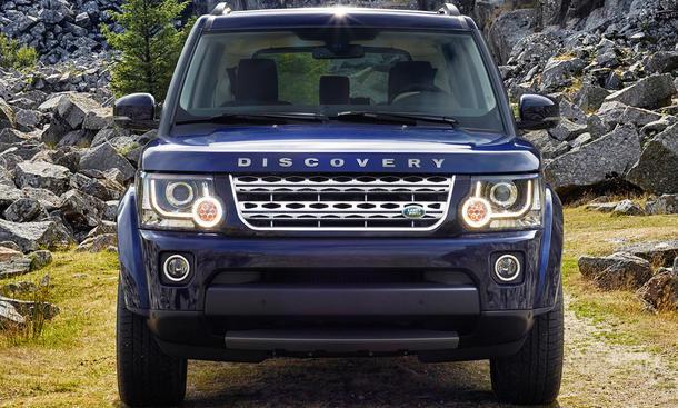 Land Rover Modellpflege Discovery Evoque Sport Range Geländewagen Facelift