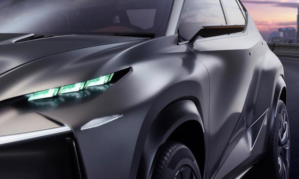 Lexus LF-NX Turbo Tokyo Motor Show 2013 Bilder SUV