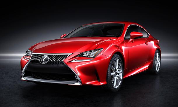 Lexus RC Coupe Markteinführung 2014 Motoren technische Daten Bilder