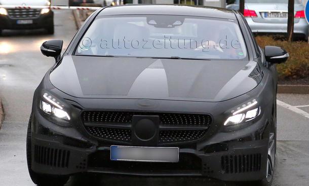 Mercedes S-Klasse Coupé 2014 Erlkoenig Luxusklasse