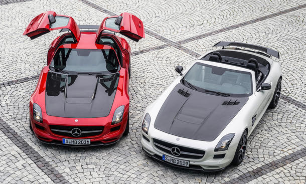 mercedes sls amg gt final edition auf der la auto show. Black Bedroom Furniture Sets. Home Design Ideas