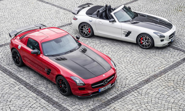 mercedes sls amg gt final edition auf der la auto show 2013 preis. Black Bedroom Furniture Sets. Home Design Ideas