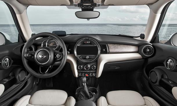 Mini Cooper 2014 Kleinwagen F56 Dreizylinder LA Auto Show 2013