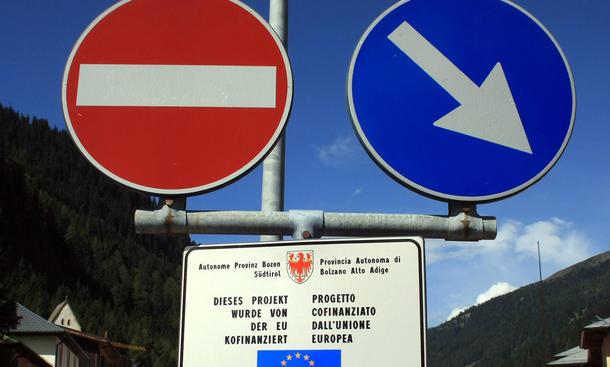 Österreich Klage gegen Pkw-Maut für Ausländer in Deutschland Protest