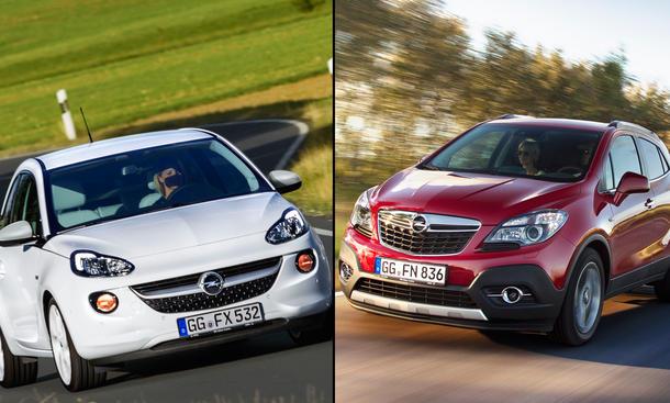 Opel Adam Mokka Verkaufszahlen 2013 Absatz Statistik