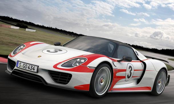 Porsche 918 Spyder Beschleunigung 0 100 200 300 Werte verbessert