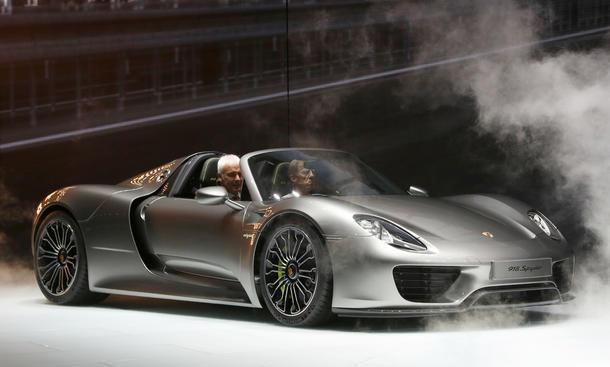 Porsche 918 Spyder Hybrid-Sportwagen Verkaufszahlen 2013 Resonanz